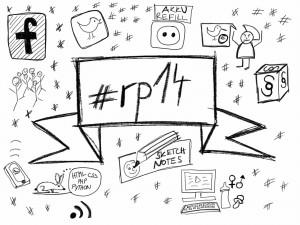 Neu erworbene Kenntnisse umgesetzt! Meine Eindrücke der #rp14 als Sketchnote!