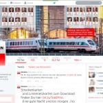Der Twitter Account von @DB_BahnDer Twitter Account von @DB_Bahn