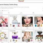 Das Pinterest-Profil von flaconi.de