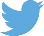 Der blaue Twitter-Vogel