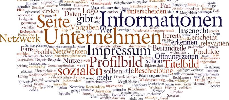 Unternehmensprofil bei Social Media (Start in den sozialen ...