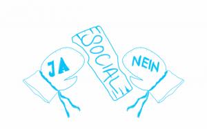 In Unternehmen gehen die Meinungen zu sozialen Netzwerken weit auseinander
