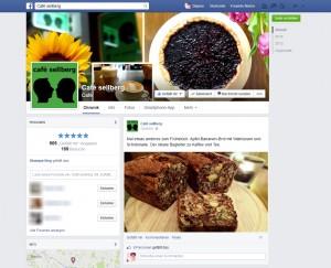 Auf der Facebookseite vom Café Sellberg dreht sich alles um Kulinarik!