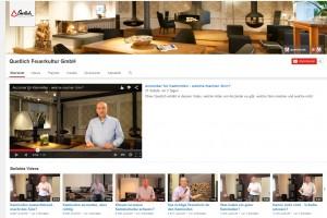 Die Videos der Qetlich Feuerkultur GmbH überraschen mit einer hohen Anzahl an Views.