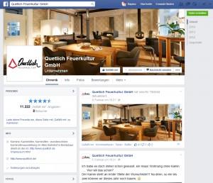 Rege wird die Facebook-Seite von Quetlich Feuerkultur genutzt - das merken auch die Fans.