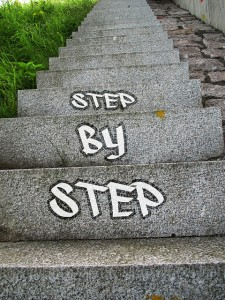 Schritt für Schritt zum Erfolg!