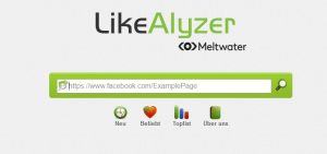 Screenshot LikeAlyzer