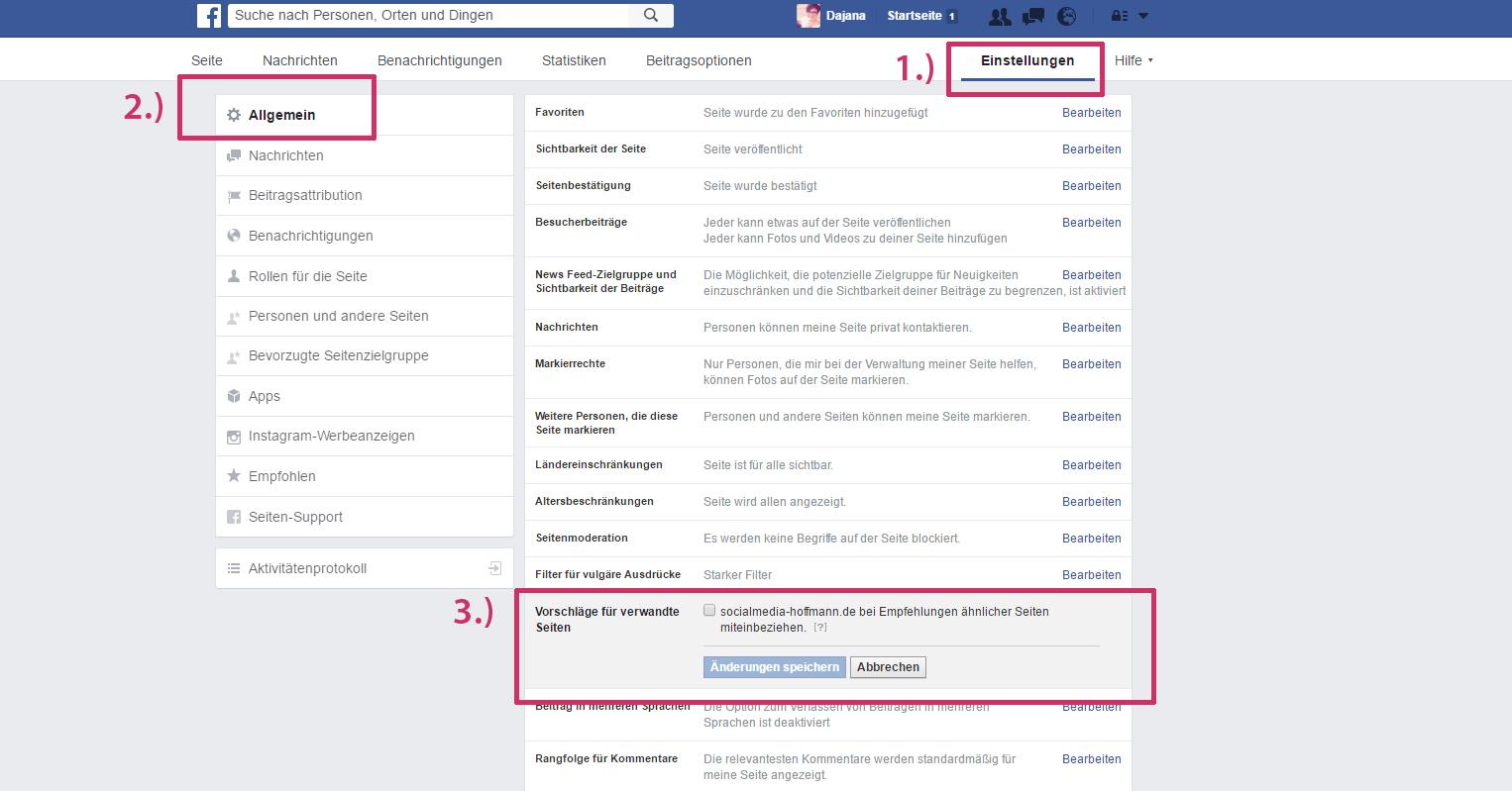 Facebook Werbung Entfernen